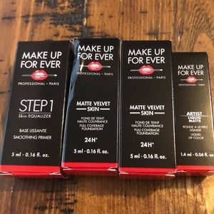 New Make Up For Ever Sample Bundle